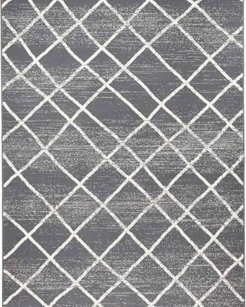 Zala Living Tmavě šedý koberec Hanse HomeRhombe, 140x200cm