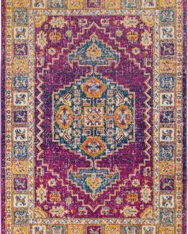 Fialový koberec Flair Rugs Urban Traditional, 100 x 150 cm