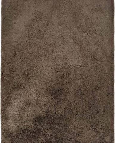 Hnědý koberec Universal Alpaca Liso, 60 x 100 cm