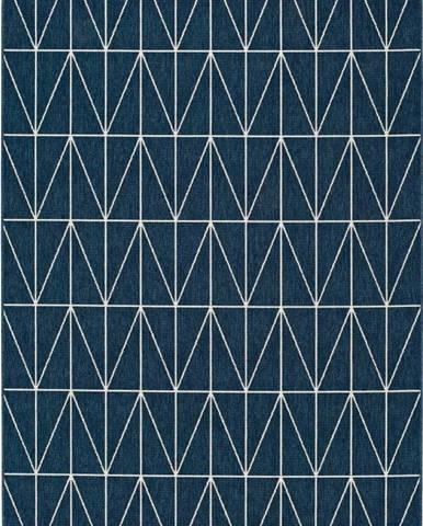 Modrý venkovní koberec Universal Nicol Casseto, 140 x 200 cm