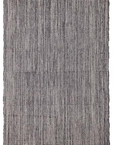 Šedý bavlněný koberec Bloomingville Multi, 90 x 150 cm
