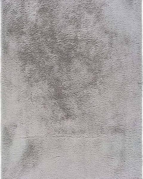 Universal Šedý koberec Universal Alpaca Liso, 140 x 200 cm
