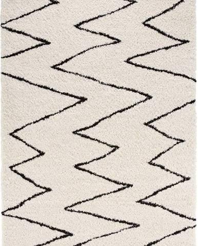Béžovo-černý koberec Mint Rugs Jara, 120 x 170 cm