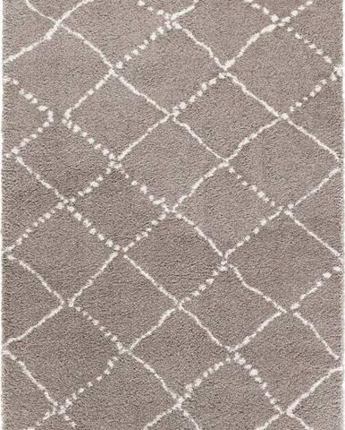Hnědý koberec Mint Rugs Hash, 120 x 170 cm