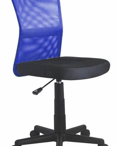 ADK Trade s.r.o. Dětská síťovaná židle Dingo, modrá/černá