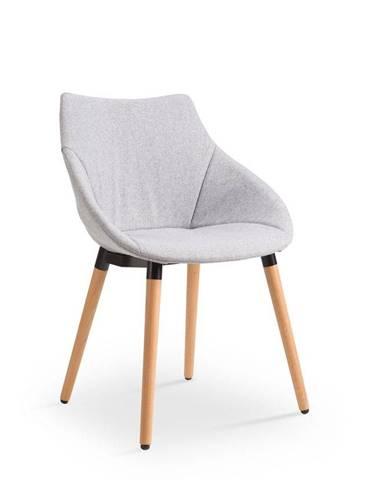 Halmar Jídelní židle K226, světle šedá