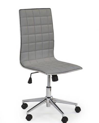 Halmar Kancelářská židle TIROL, šedá