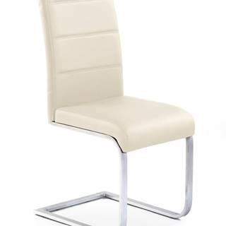 Halmar Jídelní židle K85, krémová