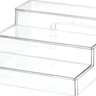 Transparentní stojan iDesignTheHomeEdit, 26x29,2cm