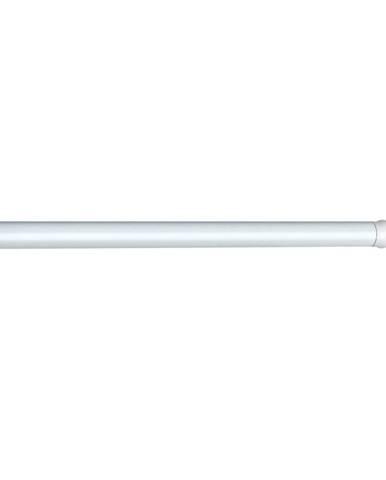 Bílá teleskopická tyč na sprchový závěs Wenko Shower Curtain Rod