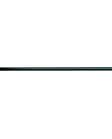 Černá tyč na sprchový závěs s nastavitelnou délkou iDesign Cameo, délka109 - 191 cm