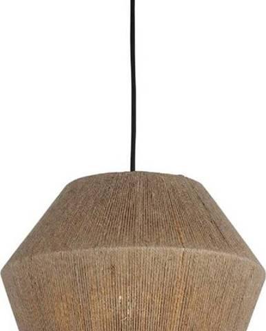 Černo-béžové závěsné svítidlo Homemania Decor Fero,výška30cm