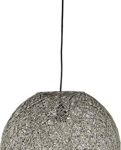 Šedé stropní svítidlo LABEL51 Twist, ⌀ 30 cm