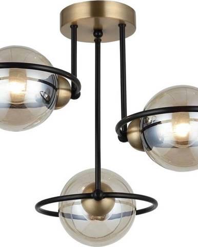 Stropní svítidlo v černo-zlaté barvě Homemania Decor Ringo Tres