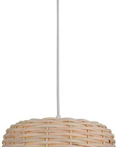 Závěsné svítidlo s bambusovým stínidlem Homemania Decor Bamboo,ø25cm