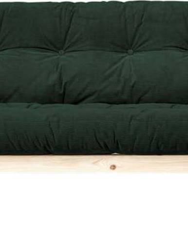 Manšestrová variabilní pohovka Karup Design Grab Raw Dark Green