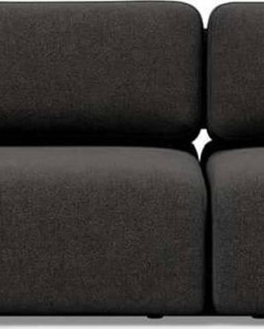 Tmavě šedá rozkládací pohovka Innovation Vogan Kenya Dark Grey