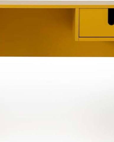 Žlutý pracovní stůl Tenzo Uno