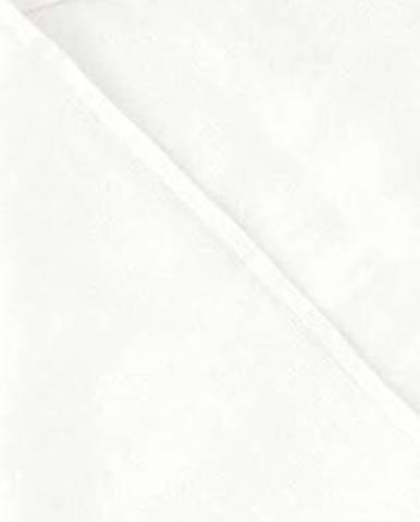 Dětský bílý lněný ručník Linen Tales Waffle,100x100cm