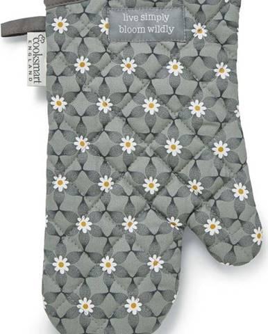 Šedá bavlněná kuchyňská rukavice Cooksmart ® Purity