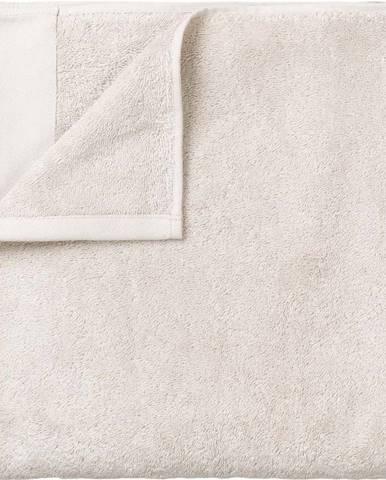 Bílá bavlněná osuška Blomus, 70x140cm