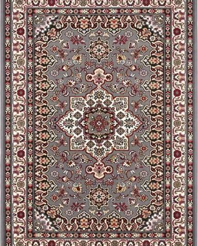 Šedý koberec Nouristan Parun Tabriz, 80 x 150 cm
