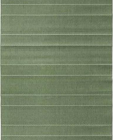Zelený běhoun vhodný i na ven Hanse Home Sunshine, 80 x 200 cm