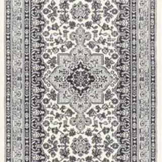 Krémově-šedý koberec Nouristan Parun Tabriz, 80 x 250 cm