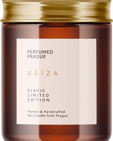 Svíčka ze sojového vosku s vůní břízy Perfumed Prague,doba hoření40h