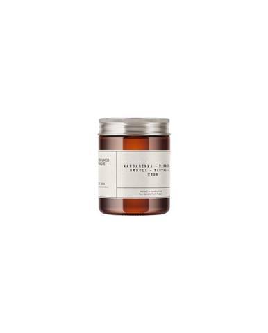 Svíčka ze sojového vosku s vůní mandarinky a šafránu Perfumed Prague,doba hoření40h