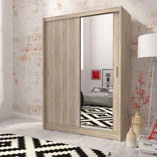 skříň MARY 130 zrcadlo, sonoma