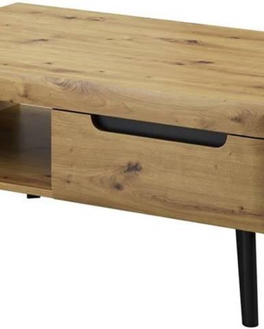 Konferenční stolek NOVA, dub artisan