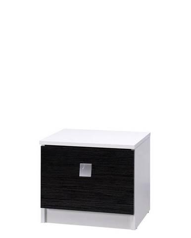 noční stolek LAVERN II, bílá