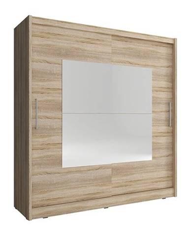 skříň WENDY IX 180, dub sonoma