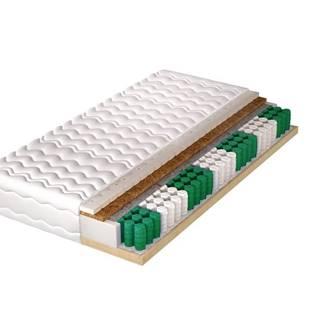 pružinová matrace s pevným rámem HECTOR LUX 80x200