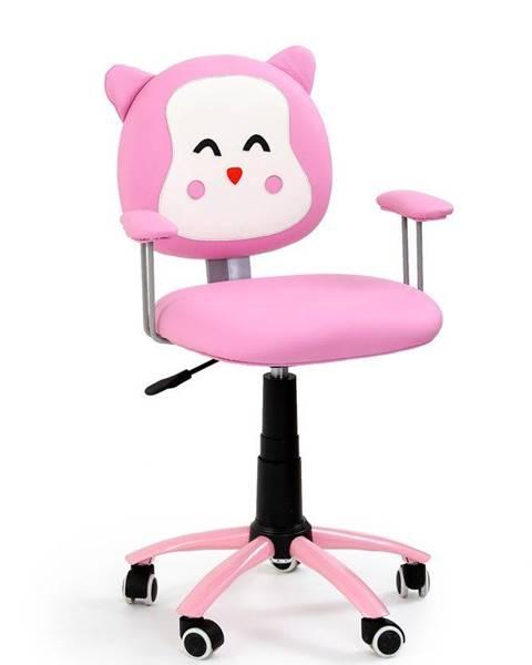 Halmar Halmar Dětská židle Kitty, růžová