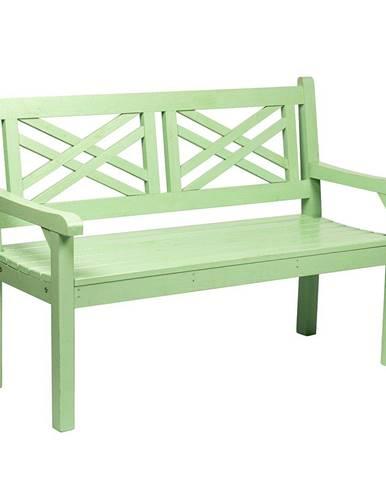 Tempo Kondela Dřevěná zahradní lavička Fabla, 124 cm
