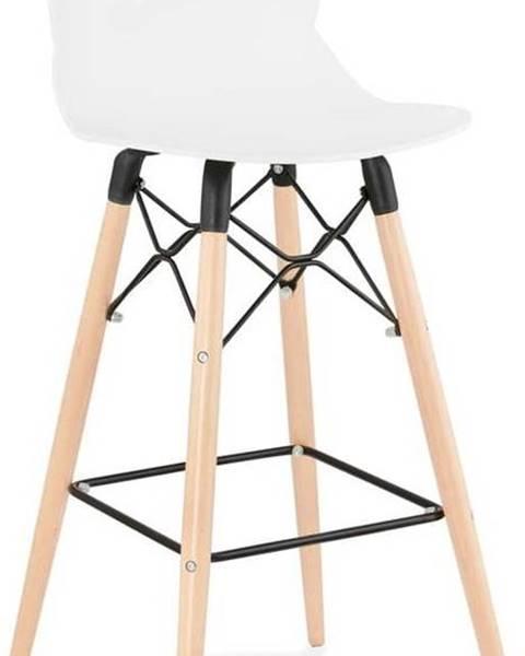 Kokoon Černá barová židle Kokoon Marcel, výškasedu75cm