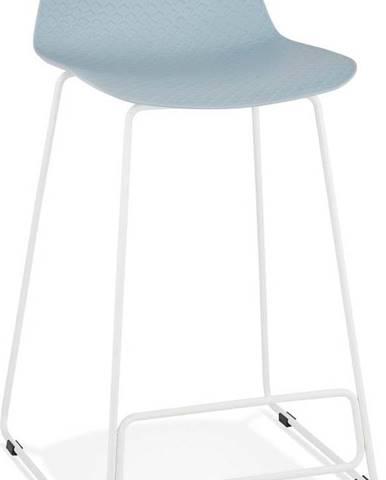 Šedá barová židle Kokoon Slade Mini, výškasedu66cm