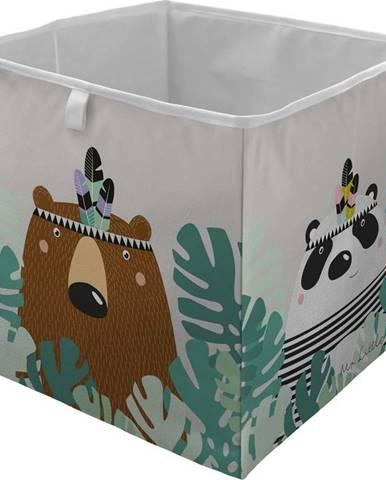 Dětský úložný box Mr. Little Fox Close Friends Always Be Ready