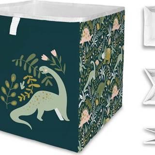 Dětský úložný box Mr. Little Fox Friendly Dinosaurs