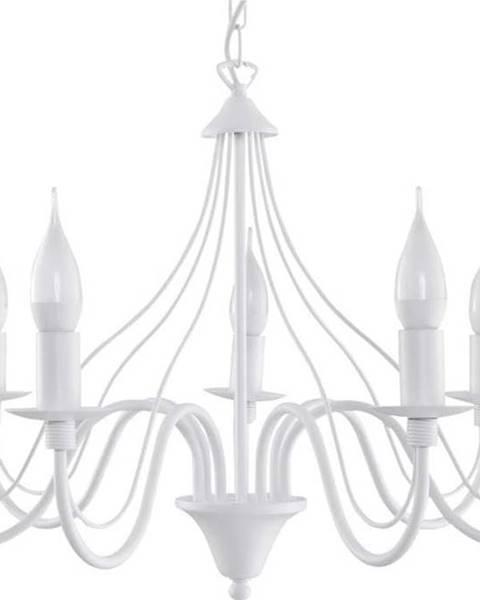 Nice Lamps Bílé závěsné svítidlo Nice Lamps Fiorano 7