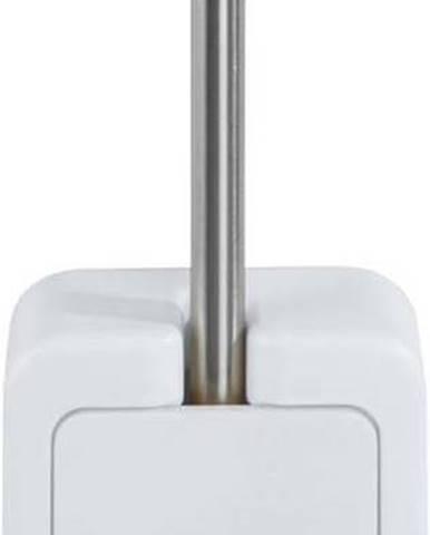 Bílý nástěnný WC kartáč Wenko Osimo