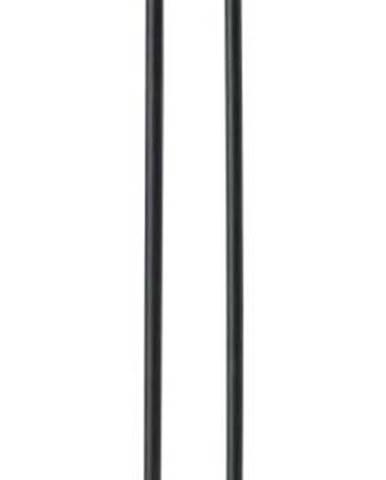 Černý kovový držák na kuchyňské role Zone Singles, výška 32 cm