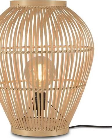 Stojací bambusová lampa Good&Mojo Tuvalu, ⌀42cm