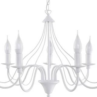 Bílé závěsné svítidlo Nice Lamps Fiorano 7