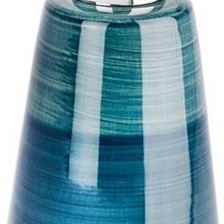Petrolejově modrý dávkovač na mýdlo Wenko Pottery