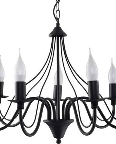 Černé závěsné svítidlo Nice Lamps Fiorano 7