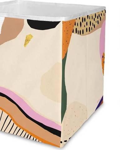 Úložný box z mikrovlákna Butter Kings Abstract Landscape,32l