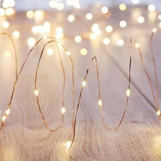Sada 8 LED světelných řetězů DecoKing Set, 8 x 20 světýlek, délka 1,3 m